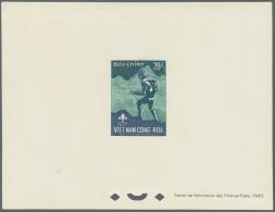 Vietnam-Süd (1951-1975): 1958/66 (ca.), Epreuves (114) De Luxe For 34 Issues