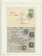 Bosnien Und Herzegowina - Stempel: 1885/1918 (ca.), POSTMARKS OF BOSNIA-HERCEGOVINA, Specialised Collection On Apprx. 16