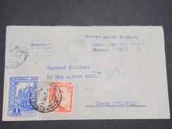 PEROU - Enveloppe De Iquitos Pour La France En 1939 , Affranchissement Plaisant - L 7898 - Peru