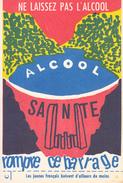 Carte Postale Lutte Contre L'alcoolisme - Carte Au Format 8 X 12 Neuve - Altri