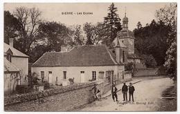 Bierre Les Semur : Les écoles (Editeur Harang, Précy Sous Thil - C. Lardier, Besançon, CLB) - Autres Communes