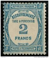 France Taxe (1927) N 61 * (charniere)