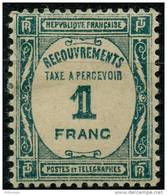 France Taxe (1927) N 60 * (charniere) - Taxes