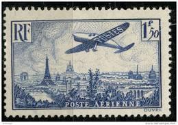 France PA (1936) N 9 * (charniere) - Poste Aérienne