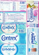 ETIQUETTES -EAU CONTREX + 1 SAINT-AMAND-2 SCANS- - Etiketten
