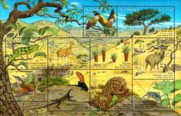NAMIBIA 2001 Central Highlands, Birds, Chameleon, Pangolin, Fauna MNH