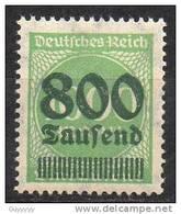 Deutsches Reich - 1923 - Michel N° 308 **