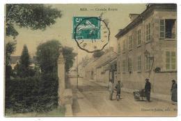 CPA - MER, GRANDE ROUTE - Loir Et Cher 41 - Animée, Circulé 1911 - Mer