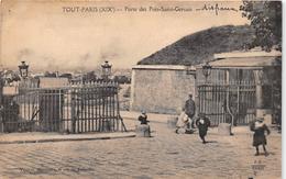 ¤¤  -  471  -   PARIS   -  La Porte De Prés-Saint-Gervais   -  Octroi ??  -  ¤¤ - Arrondissement: 19