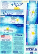 ETIQUETTES-EAU HEPAR-2 SCANS- - Etiketten