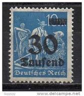 Deutsches Reich - 1923 - Michel N° 284 **