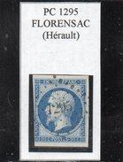 Herault - N° 14B (ld) Obl PC 1295 Florensac