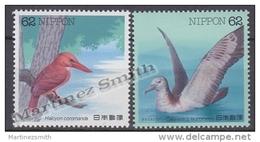 Japan - Japon 1992 Yvert 2000-01, Aquatic Birds (V) - MNH