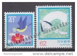Japan - Japon 1992 Yvert 1994-95, Letter Writing Day - MNH