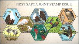 NAMIBIA 2004 Sapoa, Birds, Eagles, Fauna MNH
