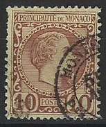 KK--390-.  N° 4,  Obl.  ,  COTE  50.00 € , LIQUIDATION , A Saisir - Monaco