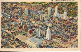 Etats Unis. Air View Of Kansas City - Kansas City – Missouri