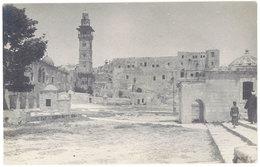 Cpa Carte-photo, Palestine , Jérusalem - Palestine