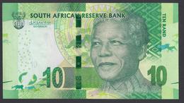 2016 -10 Rand  -  TEN RAND - Unc - Governor Lesetja Kganyago's Signature - Sudafrica