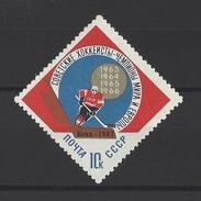 RUSSIE . YT 3228 Neuf ** Championnats Dumonde De Hockey Sur Glace à Vienne 1967