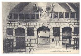 Cpa Palestine, Nazareth - The Synagogue - Palestine