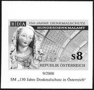 Austria/Autriche: Prova Per La Stampa, Proof For Printing, épreuve Pour L'impression, Protezione Monumenti, Protection D