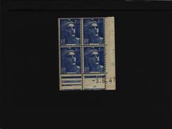 N° 718A- 4,50F Marianne De GANDON - AA De AA+AB - Tirage Du 12.5.47 Au 13.6.47 - 3.06.1947 -