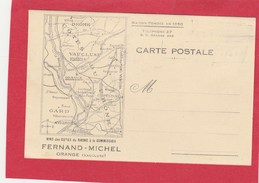 CPA 84 ORANGE FERNAND MICHEL VIN COTES DU RHONE PUB - Orange