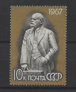 RUSSIE . YT 3281 Neuf ** Anniversaire De La Naissance De Lénine 1967