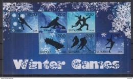 U17 Guyana - MNH - Sports - Winter - 2014