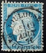 S 234- 6O Type I CAD Du 19 Août 1876 Toulouse (30) Haute Garonne Ind 1
