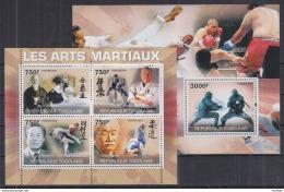 Z17 Togo - MNH - Sports - Martial Arts - 2010