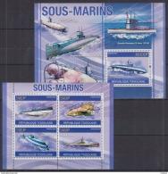 E18 Togo - MNH - Transport - Submarines - 2010