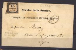 FRX 760  -  France  -  Taxes :  Yv   3 IB  (o)   N°6du Report Ur Lettre Du 3 Avril 69