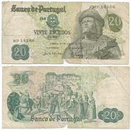 Portugal 20 Escudos 1971 Pick 173.1 Ref 383 - Polonia