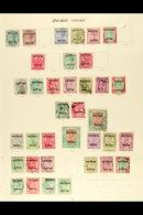 OLD TIME COLLECTION  On Imperial Pages. Useful Mint & Used Ranges From Various States Inc CHAMBA KGV To 1r...