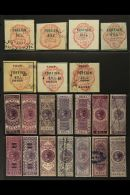 REVENUES - FOREIGN BILL  1860-1980 Used Collection, Essentially All Different With Shades, And Which Includes...