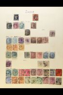 1854-1960 MINT & USED COLLECTION  Crammed Onto A Selection Of Album Pages. Includes Useful QV Ranges To 6a...