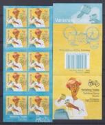 Singapore 2013 Vanishing Trades, Dairy Man Bicycle Booklet **10th Reprint (Imprint 2017K) MNH