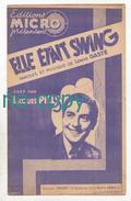 """Elle était Swing, Louis Gasté (""""Loulou""""), Jacques Pills, Partition - Chant Soliste"""