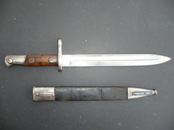 Baionnette Espagnole 1898 Mauser WW1 Espagne 1893 1896 - Armes Blanches