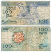 Portugal 100 Escudos 24-11-1988 Pick 179.f.2 Ref 646 - Portugal