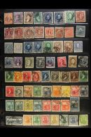 1860 - 1960 EXTENSIVE COLLECTION  A Most Useful Range Of Chiefly Cds Used (& A Few Mint) Issues Presented On...