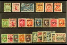 1903-20  MINT GROUP Incl. 1903-11 All Basic Values, 1911-16 ½d & 1d, 1916-17 6d & 1s, 1917-18...