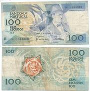 Portugal 100 Escudos 24-11-1988 Pick 179.f.4 Ref 647 - Portugal
