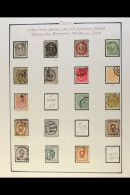 1872-1960 EXTENSIVE COLLECTION.  A Chiefly All Different Used Collection With A Sprinkling Of Mint Issues Plus...