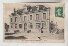 CPA SAINT LAURENT NOUAN (Loir Et Cher) - La Mairie - France