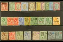 1876-1929 MINT SELECTION  On A Stock Card, ALL DIFFERENT With Values To Different 2s6d. (27 Stamps) For More...
