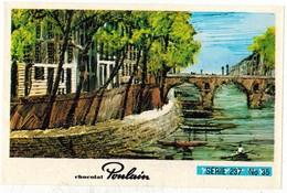 Image Chocolat Poulain Série N° 237 : J'Aime PARIS Au Mois De Mai => Image N° 35 - Musique Chanson AZNAVOUR - Poulain