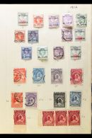 1892-1898 LOVELY OLD-TIME COLLECTION  On Album Pages, Mint And Used (mainly Mint), A Few Faults But Mostly Fine...